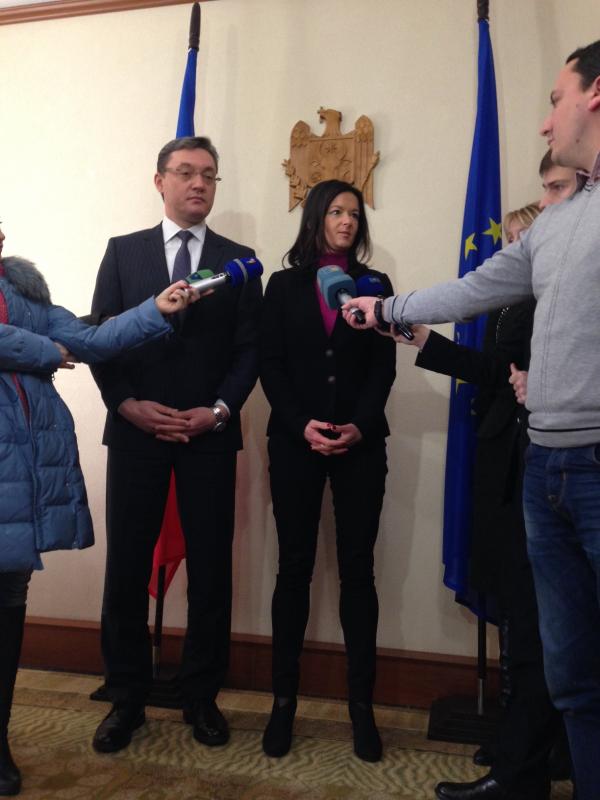 Po sestanku z Igorjem Cormanom, predsednikom parlamenta