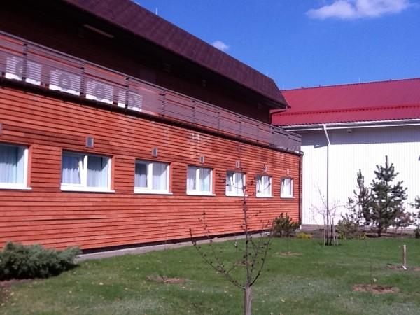 Stavba domnevnega pripora v bližini Vilne, Litva